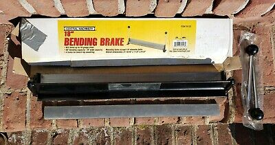 Central Machinery 18 Bending Brake Bender Steel Sheet Workbench Mount 39103