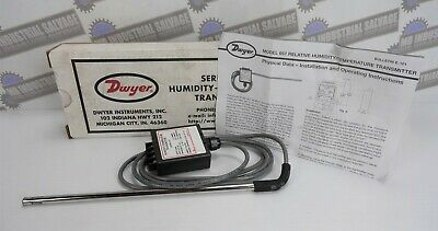Dwyer Humidity-temperature Transmitter Seriesmodel 657 New In Box