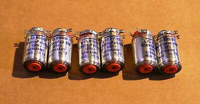 Siemens Polystyrene Styroflex Nos 25000pf 125v 05 Capacitors 6 Caps