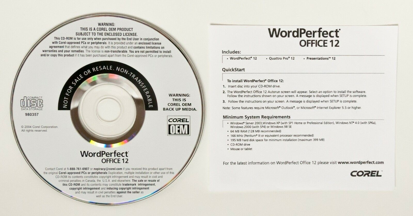 Corel wordperfect office 12 full version quattro pro presentations wordperfect office 12 has all that you need for better office management and efficiency its a powerful productivity suite featuring word processing freerunsca Image collections