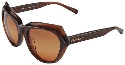 Coach HC 8193 Sunglasses HC 8193 5425W8 55 Brown Glitter | Brown Gradient (Coach Shades)