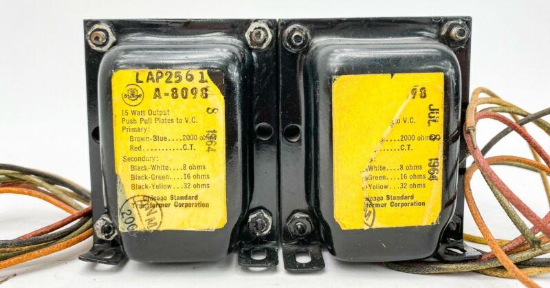 Stancor A-8098 2000 ohm 15 Watt Push Pull Tube Output Transformers