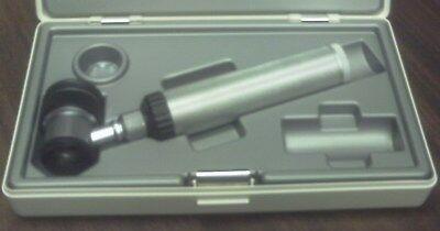 Heine Delta 10 Dermatoscope Set With Beta Battery Handle 3.5 V Guarantee