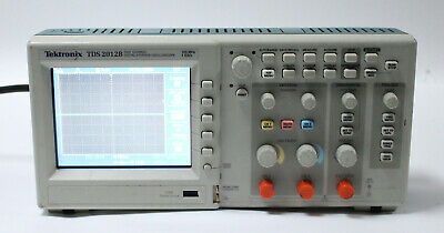 Tektronix Tds2012b 2channel 100 Mhz 1 Gss Digital Storage Oscilloscope