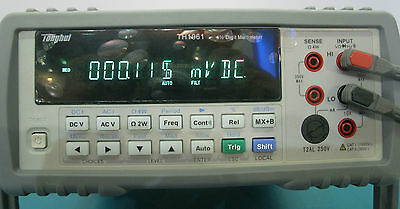 6 12 Rms Bench Top Multimeter High Accuracy 0.0035 Dcv 0.01 Resistance Th1961