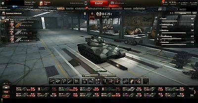 WOT EU account, 50+ premium tanks and more
