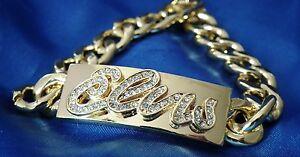 Gold 'Elvis' Signature Bracelet - 4 Sizes Available