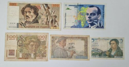FRANCE  LOT 5  Banknotes