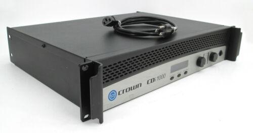 Crown CDi 1000 2 Channel Power Amplifier CDi1000