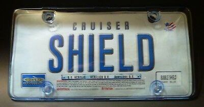 Cruiser Shield U.V. Acrylic Bubble Shield for Car/Truck License Plate (74400) Cruiser Acrylic License Plate Bubble