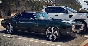 "1968 Pontiac Firebird Coupe 454 Big Block, 9"" Diff Perth Perth City Area Preview"