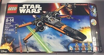 LEGO Star Wars Poe's X-wing Fighter 75102 First Order Tie Fighter 75101 Box Only