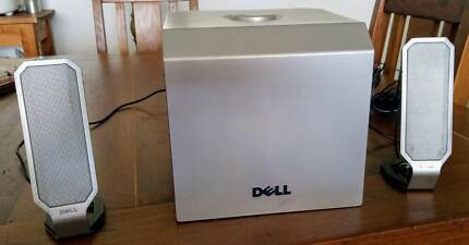 DELL A525 ZYLUX Computer Multimedia Stereo Speakers and Subwoofer