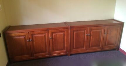 SOLID TIMBER SIDEBOARDS (2 x buffets for sale) $99.99 each Stanmore Marrickville Area Preview