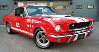 1965 Ford Mustang 4.7 V8 289 Manual Shelby GT350 Fastback