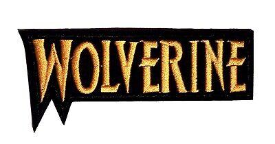 fnäher - Kostüm Aufnäher zum Aufbügeln - neu (Wolverine Kostüm)