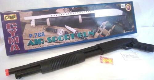 CYMA #P.788 AIR SPORT SPRING PUMP ACTION SHOT GUN/RIFLE BY BULLSEYE(R)  *NEW*
