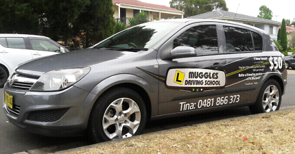 MUGGLES DRIVING SCHOOL / DRIVING LESSONS - FEMALE INSTRUCTOR