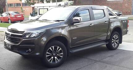 2016 Holden Colorado Ute LTZ with hard lid current shape