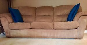 Matching couch and love seat.