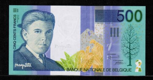 Belgium 500 FRANCS ND(1998)  Gem UNC