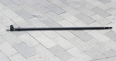 2.5m Telescopic Carbon Fibre Gnss Pole For Topcon Leica Trimble Sokkia Gnss