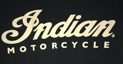 Vintage Indian Motorcycle Biker Tshirt Size 2XLarge
