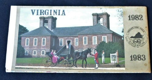 Virginia 1982 Roadmap Board of Tourism