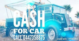 Cash for car $ broken or alive top cash paid Albion Brimbank Area Preview