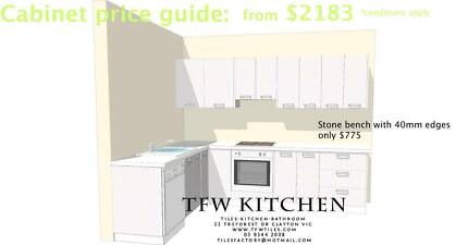 Complete Kitchen Cabinets with Polyurethane Gloss White Door