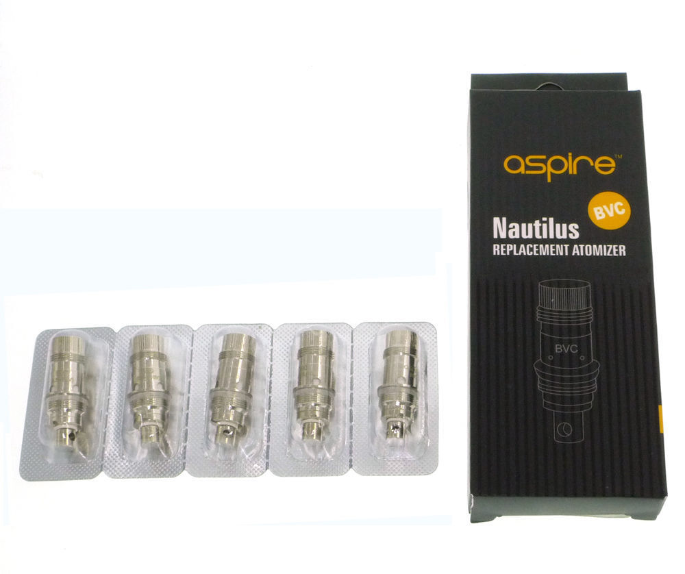 Aspire Nautilus / Nautilus mini BVC Replacement Atomiser Coils 1.6 / 1.8 Clone