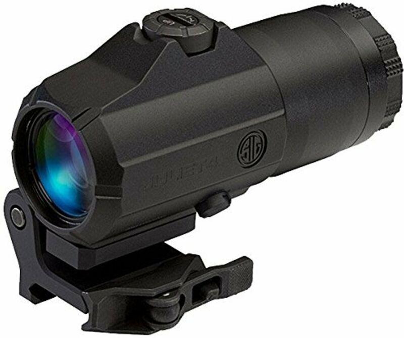 Sig Sauer JULIET4 4X Magnifier 4x24mm PowerCam QR Mount   Black