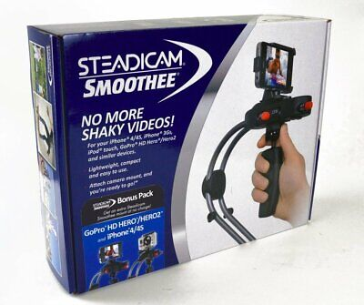 STEADICAM SMOOTHEE Stabilizer GPIP4 Camera Mount NEW Go Pro HD Hero iPhone 4 4S  for sale  Shipping to India