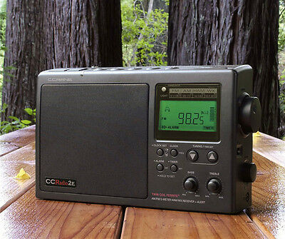 C Crane Enhanced Emergency RADIO with AM/FM, NOAA & Weather Band CCRadio 2E, used for sale  Houston