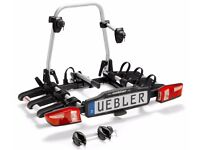 *NEW* 3 Bike Premium Bicycle Car Rack - UEBLER X31S Towbar Mounted with Ramp