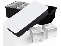 Pack of 2 Ice Cube Tray Large Size - Brand New / Unused
