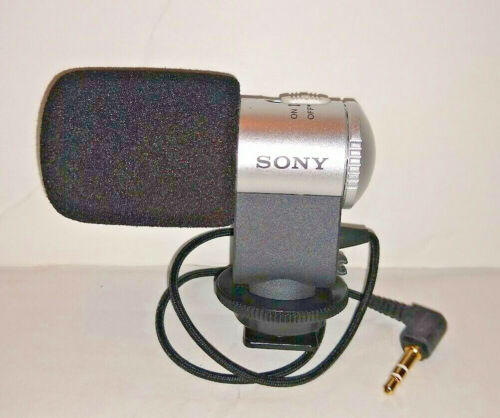 Sony Stereo Microphone ECM-MSD1 with Camera Mount + Cord