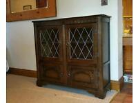 Slim dresser in dark oak