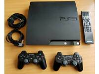 PS3 250 GB 2 Controllers