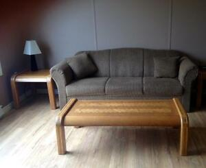 Matching Couch and Chair for Sale with table set