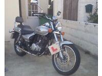 2007 Kawasaki bn125 A7F Eliminator 125cc 07 13,500ml MOT Sept 17