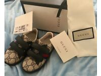Infant Genuine Gucci Shoes