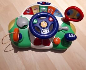 Chicco Talking Driver toy - English and French
