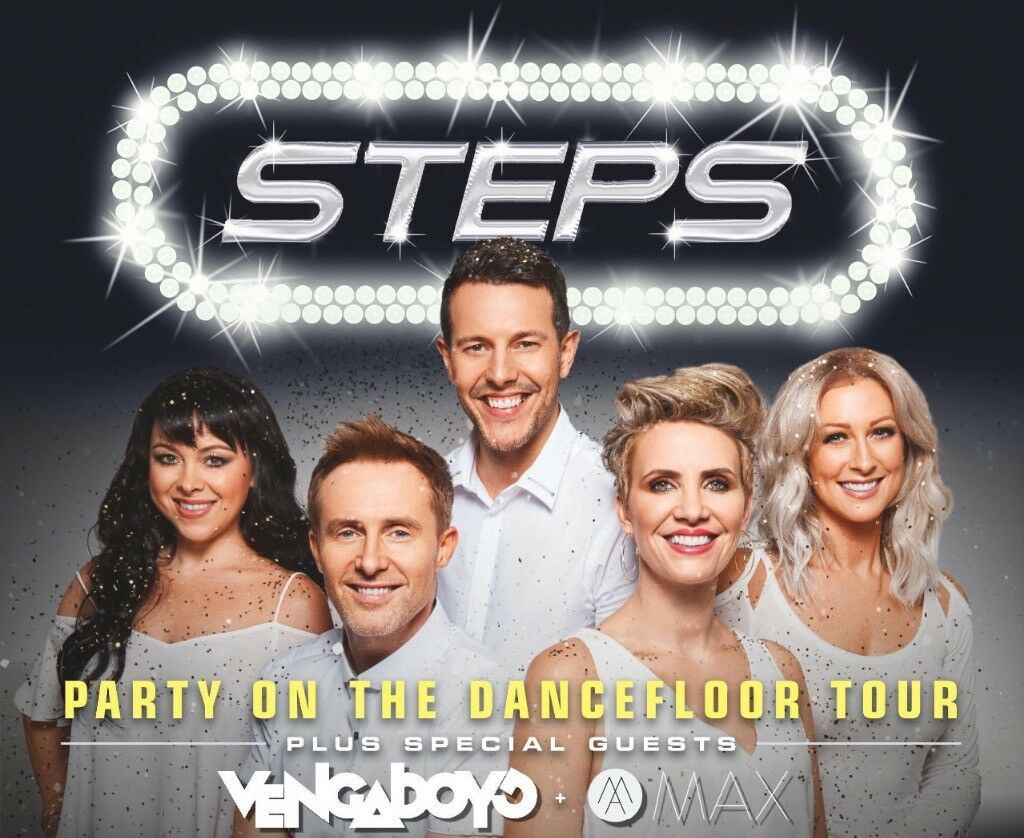 2x tickets for steps Aberdeen Aecc