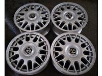 R15 Genuine OEM VW Volkswagen BBS Alloy wheels