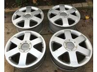 VW Audi Alloy wheels