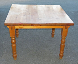 Sturdy Pine Dining Table