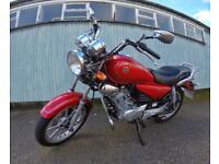 Red 2013 Yamaha YBR 125 Custom