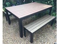 IKEA Falster - garden table and benches