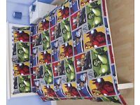 Marvel - Avenges Duvet, Curtains & Lampshade £10